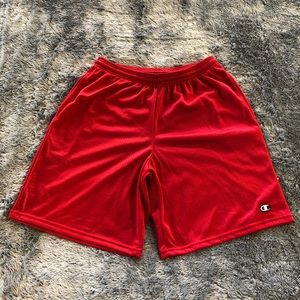 Champion Basketball Shorts - Red